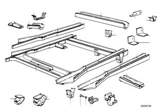 Elementy podłogi, tylne zewnętrzne