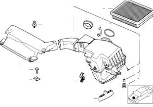 進氣消音器/濾芯