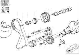 正時機構齒輪帶