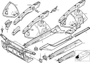 Wnęka koła/łoże silnika