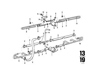 Fuel lines and pressure regulator