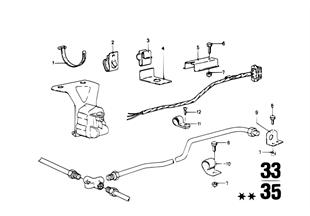 Mazo de cables regulacion del nivel