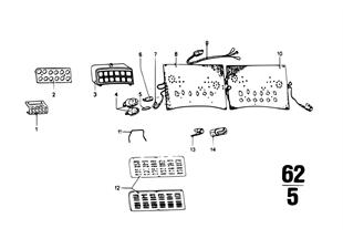 Instruments combinat-.single components