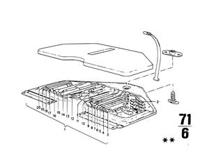 Bordwerkzeug/Wagenheber