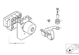 ชุดไฮดรอลิกของ ASC/ชุดควบคุม/ส่วนรองรับ