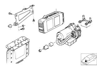 ABS hydroaggreg./stuurtoestel/bevestigng
