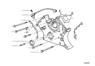 Lower timing case