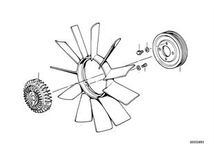 冷卻系統風扇/風扇離合器