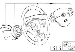 M 스포츠 스티어링휠,에어백,다기능
