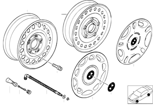 Steel rim styl.12