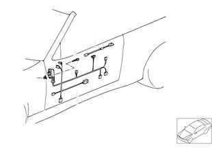 Faisceaux de cables de porte