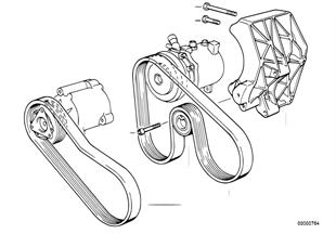 ベルト、エア ポンプ/A/C コンプレッサー