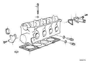 실린더 헤드-설치부품