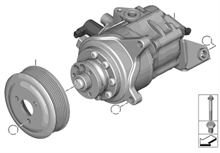 Lenkhilfepumpe/Dynamic Drive