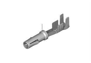 Sist. conector macho coaxial D 1, 5 mm