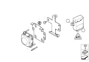 ACC-Sensor/Regulac. dinámica d velocidad