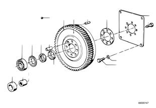 Volante do motor/volante de duas massas