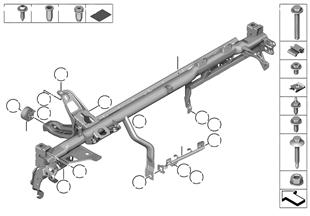 Träger Instrumententafel