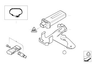 타이어공기압 감시시스템 (RDC)- 컨.유닛