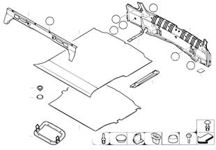 Облицовка пола багажного отделения