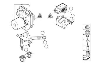 Hydroaggreg.DXC/bevestiging/sensor