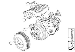 Bomba servodirección/tracción autoadapt.