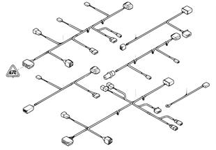 導線組 座椅