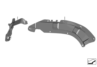 Wiring harness covers/cable ducts