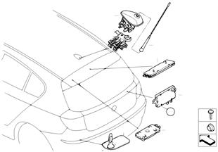 Onderdelen antenne