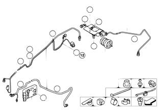 SCR leidingen/bevestigingsdelen