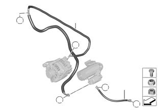 Kablo, Marş motoru