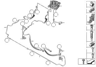 밸브 블록과 설치부품/다이내믹 드라이브