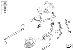 Kabel Anlasser