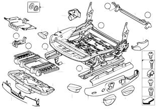 앞 시트,시트 레일,기계식/개별 부품