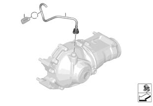 앞차축 디퍼렌셜-환기 시스템/4륜 구동