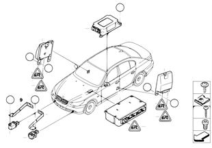 Piezas electricas airbag