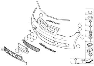 M Obudowa przednia