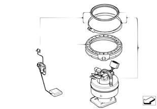 燃料フィルター/ポンプ/レベル センサー