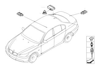 Unidade comando/Antenas Passiv Access