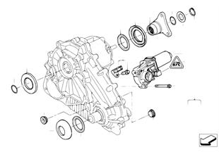 Transfer case, single parts ATC 700