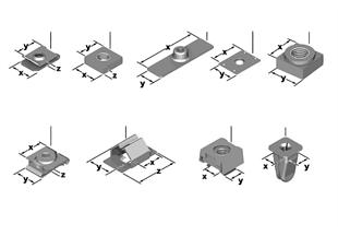 Verbindingselemente mechanisch
