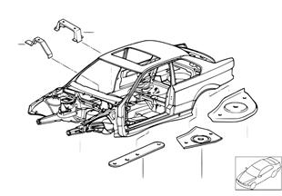 Estrutura da carroçaria