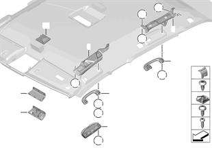 Anbauteile Dachhimmel