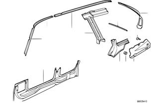 側車架部件