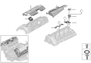 Zylinderkopfhaube/Anbauteile