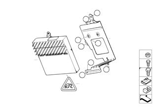 アンプ/Hifi システム ホルダー