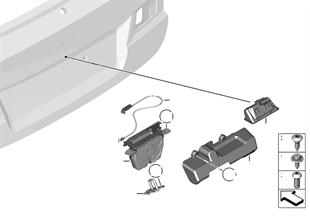 Couvercle de coffre/Système de fermeture