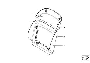 Individual achterwand comfortstoel leder