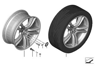 """BMW LM Rad M Doppelspeiche 303 — 20"""""""