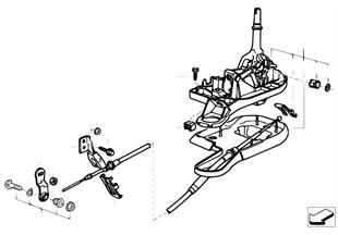 Schaltung automatisches Getriebe